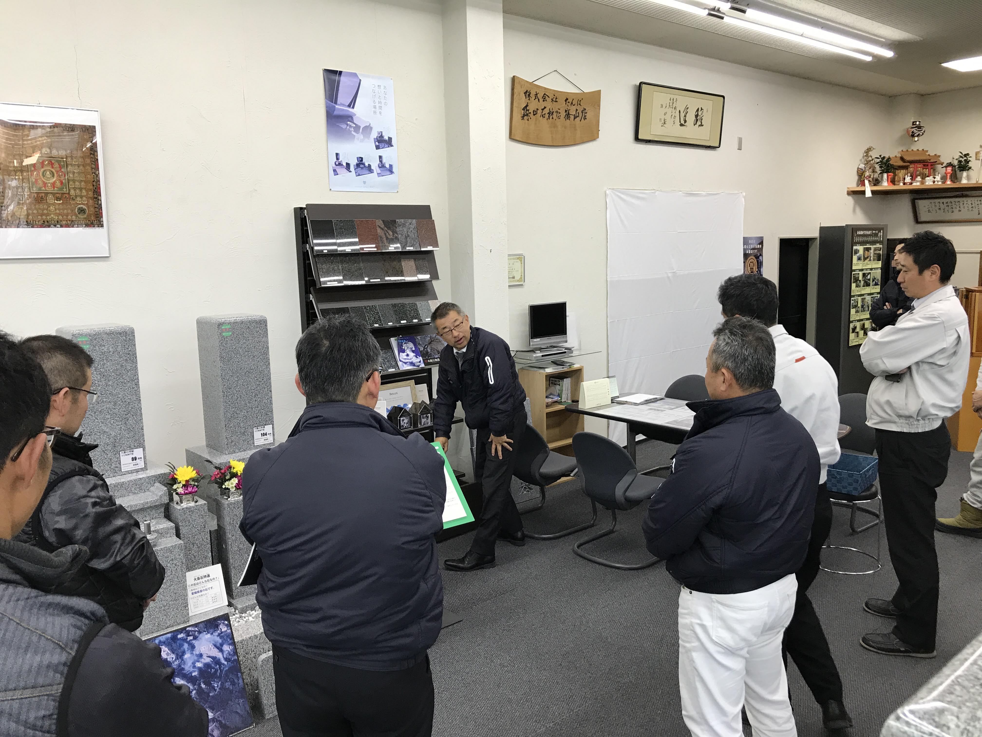 皆で知恵を出し合う!|森田石材店
