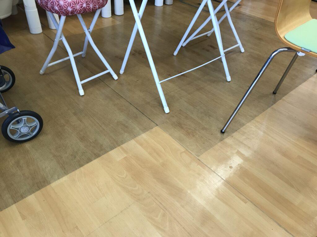 床磨き境界